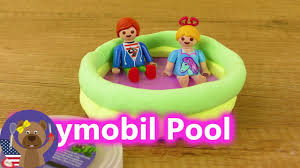 playmobil pool diy make pool for hannah u0026 julian vogel mini