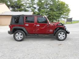 wrecked jeep wrangler for sale find used 2011 jeep wrangler 4 door 4x4 salvage wrecked damage in