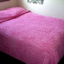 shop vintage chenille bedspreads pink on wanelo