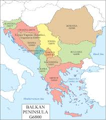 Greece On A Map by Lc G Schedule Map 23 Balkan Peninsula Waml Information Bulletin
