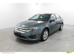 steel blue metallic ford fusion 2011 steel blue metallic ford fusion se v6 76987104 photo 2