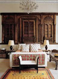 Eclectic Bedroom Design by Eclectic Bedroom Design With Carved Window Eclectic Bedroom