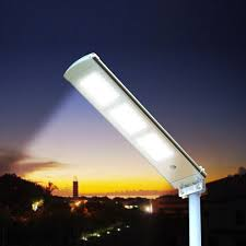Solar Panel For Street Light by Street Lamp At Led 3000 Lumen With Solar Panel Garden Parking And
