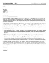 Sample Resume For Information Security Analyst by Security Manager Cover Letter