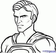 draw superman man steel step step dc comics