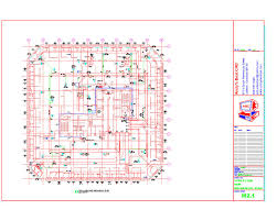 mechanical floor plan autocad hvac drafting sles