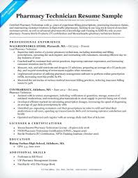pharmacy technician resume exles technician resume pharmacy technician resume exle patient care