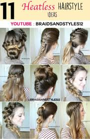 heatless hair styles best 25 heatless hairstyles ideas on pinterest heatless curls