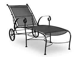 Best Wrought Iron Patio Furniture - best wrought iron chaise lounge u2014 prefab homes wrought iron