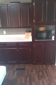 Reader Feature Kitchen Cabinet Facelift Blissfully Ever After - Diy kitchen cabinet refinishing