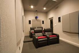 home theatre for the small spaced house by maximize the house spaces