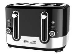 Black Decker Tr1400sb 4 Slice Stainless Steel Toaster Black Decker 2 Slice Tr3500sd Toaster