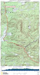Haskell Map Npt West Canada Lakes Wilderness