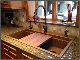 Bronze Faucet With Stainless Steel Sink Kitchen Sink Appliances Home Design Ideas