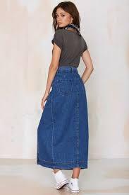 denim maxi skirt can a denim maxi skirt be an official wear styleskier