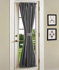 Blackout French Door Curtains Shade For French Door Amazon Com