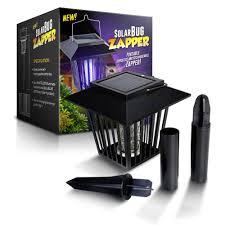 amazon com solar powered outdoor bug zapper mosquito killer