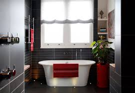 elegant black and white bathroom decorating ideas