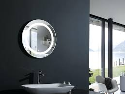 articles with lighted bathroom mirror wall mount tag lighted