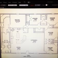 our floor plans 50x60 heated with 2car pull through garage and