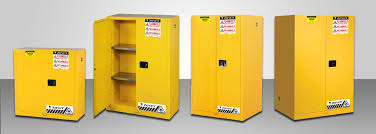 Yellow Flammable Storage Cabinet Kenya Standard Safety Cabinet For Flammables
