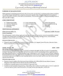 events coordinator resume creative event planner resume sample recentresumes com