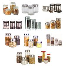 glass collectable kitchen storage jars u0026 containers ebay