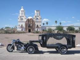 tucson funeral homes harley hearse service