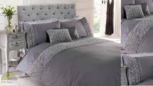 Purple Grey Duvet Cover Silver King Size Bedding White And Silver King Size Duvet Cover
