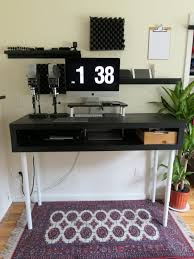 Ikea Desk Stand 110 Diy Standing Desk Ikea Hack