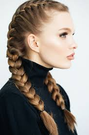 French Braid Hairstyles With Weave Best 25 Two French Braids Ideas On Pinterest 2 Cornrow Braids