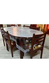 90 Dining Table Rajasthanikart Premium Plastic Dining Table Cover With White
