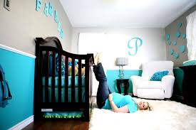 Two Tone Gray Walls by Baby Boy Bedroom Pictures Zamp Co