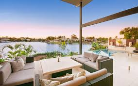 noosa canal zen civic steel architect designed contemporary