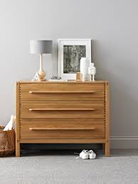 Designer Bedroom Furniture Ercol Pimlico 3 Drawer Chest Simple And Contemporary Bedroom