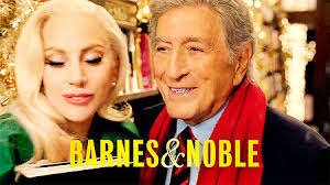 commercial lady gaga barnes and noble lady gaga and tony bennett in barnes and noble commercial