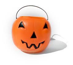 diy pumpkin halloween candy bucket