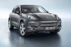 Porsche Cayenne 3 6 - 2014 porsche cayenne platinum edition debuts on v 6 gas diesel
