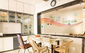 Kitchen Partition Wall Designs Partition Glass Shree Rangkala Glass Design Surat Gujarat