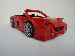 ferrari lego f40 ferrari f40 lm super mod same but different lego cars