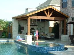 roof covered outdoor kitchens awesome patio roof extension ideas