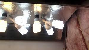 cfl grow light fixture easy diy cfl grow light youtube