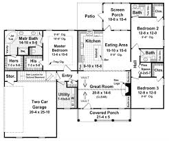 1800 sq ft ranch plan 1 800 square feet 3 bedrooms 3 bathrooms 348 00063