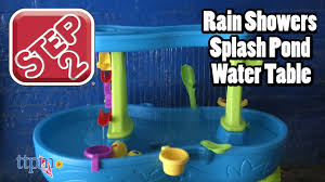 step 2 rain showers splash pond water table rain showers splash pond water table from step2 youtube