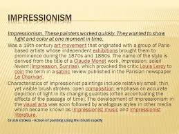 during the industrial revolution impressionism a 19th