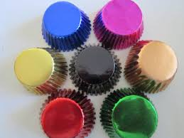 foil candy cups foil baking cupcake liner paper cup standard or mini from