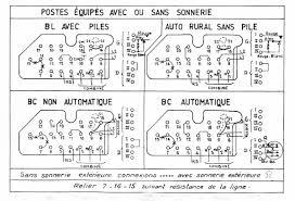 french telephone u43 diagrams