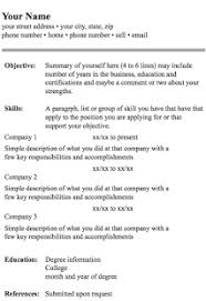 format for resume format of resume 11 screenshot thumbnail nardellidesign