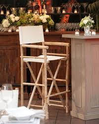 Tall Director Chairs Latitude 22 Bamboo Tall Directors Chair Town U0026 Country Event Rentals