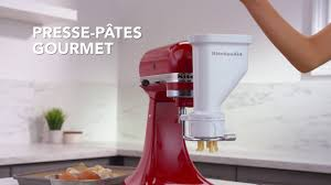 Kitchenaid Mixer Accessories by Kitchenaid Mixer Attachment Fr Youtube